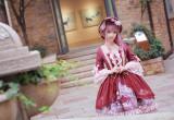 MILU FOREST~Sleeping beauty Tea party lolita op dress