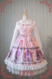 Strawberry Witch~Alice In Wonderland~ ptint Classic Lolita JSK dress