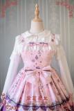 Strawberry Witch~Alice In Wonderland~ ptint Classic Lolita JSK dress