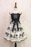 Alice girl~owl print Sling dress pre-order