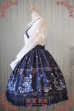 Strawberry Witch~ Alice In Wonderland~ ptint Classic Lolita Salopette