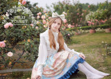 MILU FOREST~Pride and Prejudice high collar Long sleeves lolita blouse