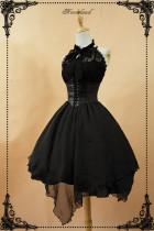 *Neverland*Spectre Prelude  Irregular skirt trimp JSK dress pre-order