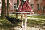 *Neverland*Not stripes 2018 Summer cute plaid OP dress pre-order