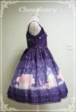 ChessStory~Peachblossom And Snow series versionⅡ lolita JSK dress