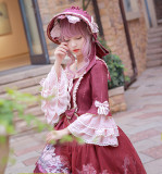 MILU FOREST~Sleeping beauty Tea party lolita op dress