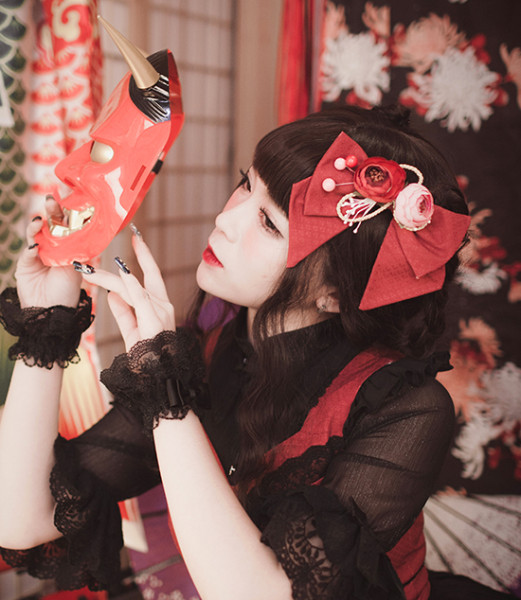 MILU FOREST~Sacrifice to Red Leaves~Gothic Lolita headdress