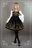 *Neverland*Swan Lake thick sleeveless dress jsk for autumn winter pre-order