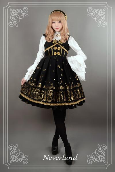 *Neverland*Swan Lake thick sleeveless dress jsk for autumn winter pre-order