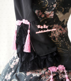 Strawberry Witch~Custom Size Available Chinese lolita style Qi Sakura Cranee lolita op dress
