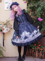 MILU FOREST~Sleeping beauty print lolita jsk dress version Ⅱ