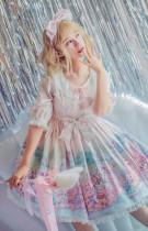 MILU FOREST~Easter Bunny print lolita op dress
