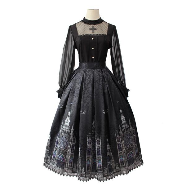Alice girl~Cross Church~elegant gothic lolita skirt pre-order