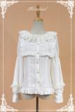 *Neverland*Sweet tea pastry lantern sleeve doll collar lolita shirt