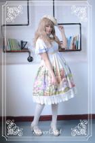 *Neverland*Song of Skylark flying sleeve countryside lolita dress