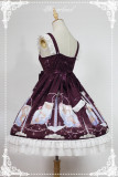 *Neverland*Starlit Aquarius daily slip lolita dress