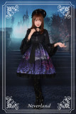 *Neverland* The butterfly cemetery high waist hime lolita op dress