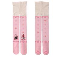 【MuFish】Love Cats Print 120D Velvet Lolita Tights