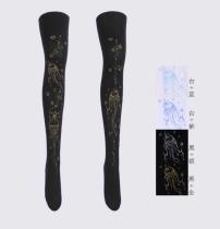 【MuFish】Lovely Tiny JellyFish Print Lolita Tights
