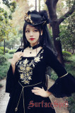 SurfaceSpell ~ Bourbon Dynasty Series Baroque Embroidery Lolita OP Dress