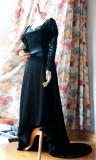 SurfaceSpell ~War and peace  Simple and elegant velvet long dress