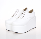 【 Angelic imprint】Lolita Student Shoes Muffin Shoes With High Heels