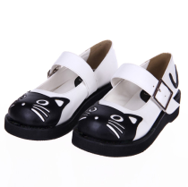 Classical Round-head Cute Cat Lolita Shoes