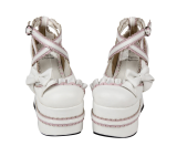 【 Angelic imprint】Spring and Autumn Lolita Single Shoes With High Heels
