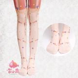 【MuFish】Circus 120D Velvet Lolita Tights