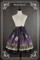*Neverland*Arabian Nights print lolita skirt with bow