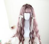 ★Sabrina★70cm+Water wave curly lolita wig