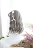 ★Polly★40cm+Air bangs and water wave curls lolita wig