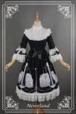 *Neverland*Starry sky  verseau  removable sleeve stand collar lolita op dress