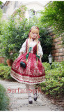 Surface spell~Alpine Roses  Gothic Ethnic Lolita Corset Jsk Dress