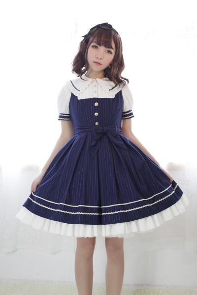 *Neverland*Morning Star Idol Academy doll collar normal waist jsk dress