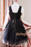 SurfaceSpell ~Judgment Day~Goth's original embroidered bodice jsk dress