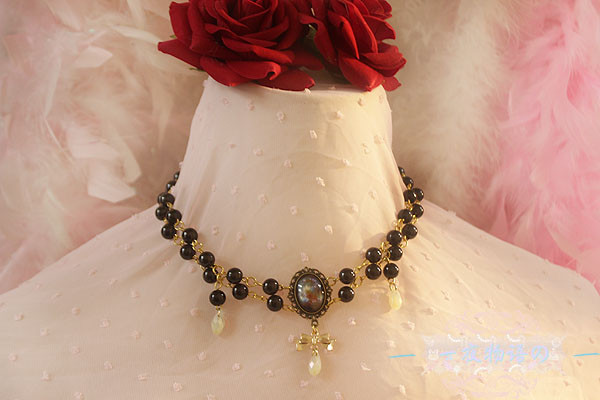 【Night Tales】Daily lolita necklace gothic choker