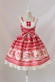 Alice Girl ~Dessert Chef~ Sweet Lolita JSK With Detachable Apron