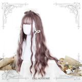 ★Sabrina★70cm+Water wave curly lolita wig