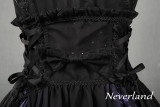 *Neverland* The butterfly cemetery high waist butterfly tail bead chain lolita jsk dress