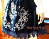 Surface spell~Judgement day Gothic embroidered velveteen JSK dress