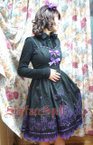 SurfaceSpell ~The church under the moon~Gothic embroidered Lolita jsk dress version Ⅱ