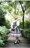 Surface spell~Alpine Roses  Gothic Ethnic Lolita Corset Jsk Dress