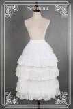 *Neverland*Multiple layers of flounce lolita petticoat