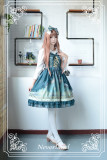 *Neverland*Arabian Nights print lolita jsk dress
