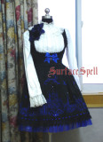 SurfaceSpell ~The church under the moon~Gothic  embroidered breast lolita jsk dress version Ⅰ