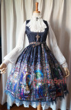 Surface spell~Rosary Print  Lolita Corset JSK Dress Version Ⅱ