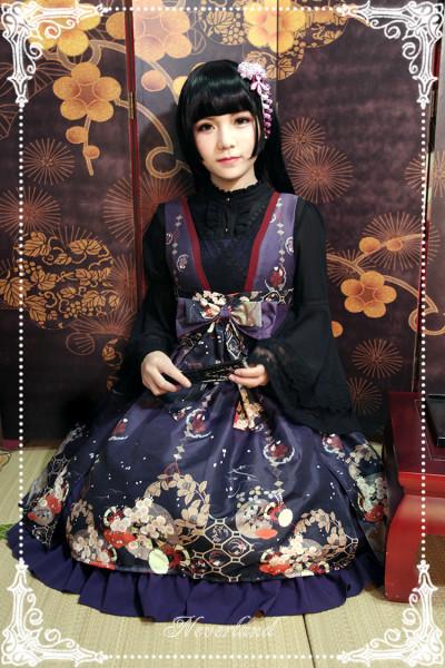 *Neverland*Hyakki Yagyō Hone-onna jpfashion sleeveless jsk dress pre-order