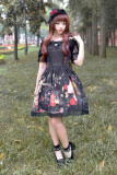 *Neverland*Pick flowers girl special set normal waist lolita dress