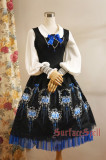 SurfaceSpell ~Rose-dance~Gothic original embroidered jsk dress